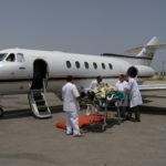 Эвакуация пациента с переломом свода и основания черепа