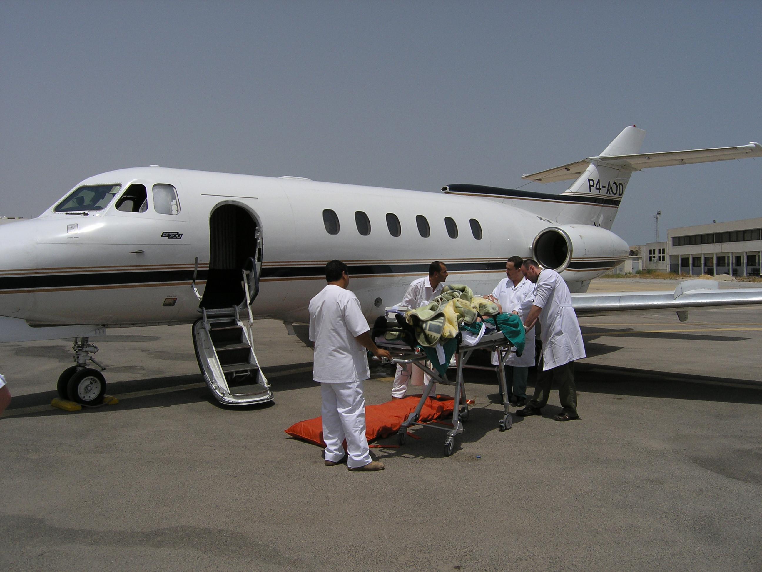 Транспортировка пациента с острым панкреонекрозом