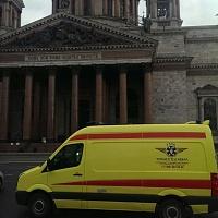 Перевозка  пациента на реанимобиле из Москвы в Санкт-Петербург
